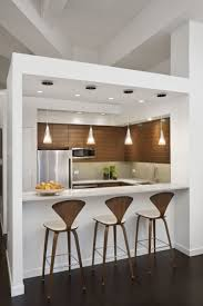 size dining room contemporary counter: small kitchen beautiful contemporary small kitchen dining room design natural wooden cabinet faucet also refrigerator completed