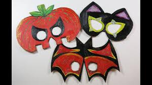 DIY Cute <b>Halloween Masks</b> for <b>Kids</b>. How to Make Masks from ...