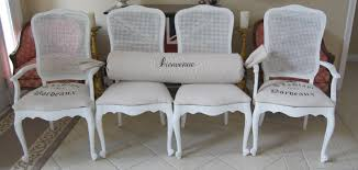 french dining chairs set