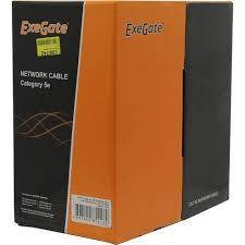 <b>Кабель UTP Exegate</b> 205293 <b>UTP</b> 5e 305 метров — купить в ...