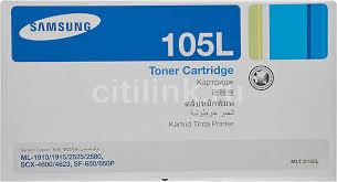 Купить <b>Картридж SAMSUNG MLT-D105L</b>/SEE, черный в интернет ...