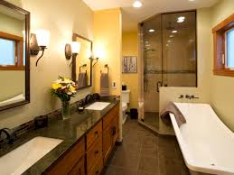 arts crafts bathroom vanity: arts and crafts bathrooms rs nancy snyder yellow transitional bathroom hjpgrendhgtvcom