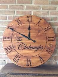 <b>Arabic Numeral</b> Laser <b>Cut</b> Wood Clock Face | <b>DIY</b> Gifts | Wood ...