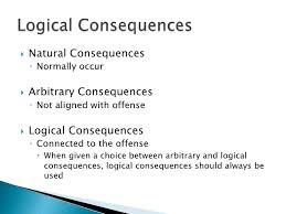 Image result for natural consequences