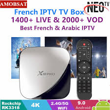 <b>TX3 MAX</b> Android 7.1 TV BOX With One year NEO pro French IPTV ...