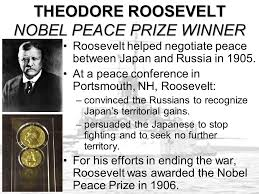「1905, roosevelt encouraged peace to russia and japan」の画像検索結果
