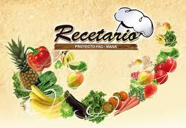 RECETARIO CURSO 2011-2012