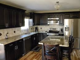 top rated kitchen cabinets 3 kitchen dark cabinets light granite amazing 3 kitchen lighting