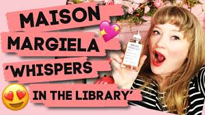 <b>Maison Margiela Replica</b> 'Whispers In The Library' Perfume Review ...