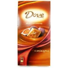 <b>Шоколад Dove</b> Молочный с инжиром   Отзывы покупателей