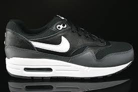 nike air max 1 gs black white dark grey right black grey nike air
