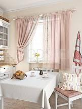 Шторы <b>розовые</b> для кухни - купить в Москве по выгодной цене