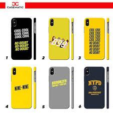 Brooklyn Nine Nine Snap Case Matte <b>for Samsung A6s</b> A6+ A7 <b>A8</b> ...