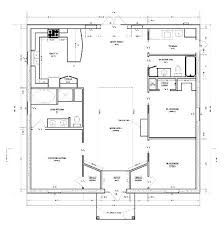 images about Floor plan ideas on Pinterest   Metal Buildings    Square floor plan  economical build  Really like the layout also