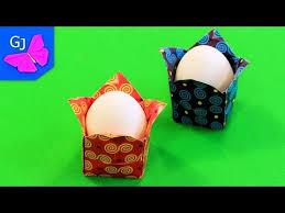 Оригами <b>Курочка</b> из бумаги ❤️ <b>Подставка</b> для <b>яйца</b> на Пасху ...
