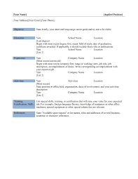 resume templates template ms word file for  resume templates resume template in microsoft word microsoft office word resume pertaining to 87