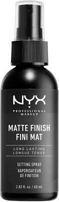 NYX <b>Professional</b> Makeup <b>Matte</b> Finish Makeup Setting Spray | Ulta ...