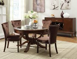 large size of tables chairs amazing chocolate mahogany wood round dining table glass dining amazing glass table top