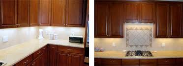 after picture of xenon under cabinet lighting installation cabi lighting xenon