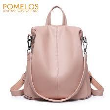 <b>POMELOS Luxury Women Backpack</b> Fashion New Anti Theft ...
