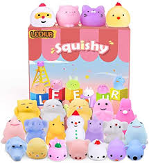 <b>LEEHUR</b> Squishies for Girls Birthday Party Favors Squishys Kids ...