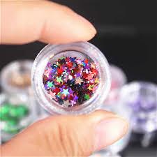 1 box nail art mine black micro drill hybrid crystal sand manicure ornament decorations