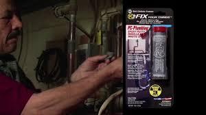 PC <b>Plumbing putty epoxy</b> - YouTube