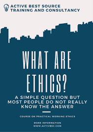 training consultancy c230 business ethics