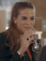 Victoria Baker-Harber shows us how to drink wine, evily. ' - Victoria-Baker-Harber