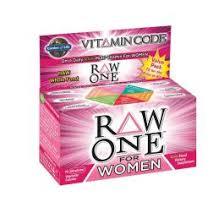Garden of Life <b>Vitamin Code Raw One</b> for Women 75 capsules ...