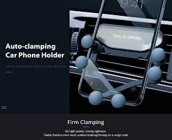 <b>Gocomma Auto-clamping Car</b> Gravity Phone Holder | Facebook