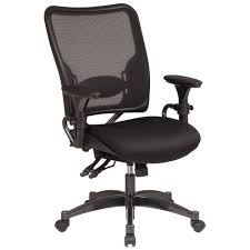 professional airgrid back ergonomic office chair in black black fabric plastic mesh ergonomic office