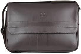 Henry <b>Genuine Leather Business Briefcase</b> Messenger Shoulder ...