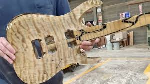 <b>Really nice</b> tube quilt. Black limba <b>neck</b>... - White Whale Guitars