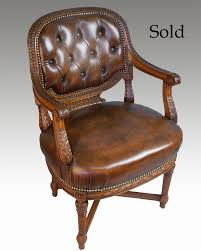 a mahogany framed office chair circa 1870 art deco mahogany framed office chair