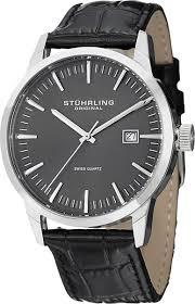 Мужские <b>часы Stuhrling</b> Ascot 42 <b>555A</b>.<b>02</b>.<b>SET</b>