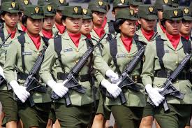 Image result for indonesian women army