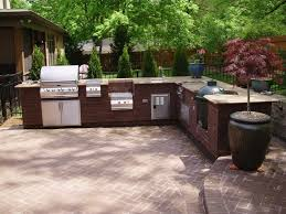 Outdoor Patio Kitchen 20 Amazing Outdoor Kitchen Ideas And Designs Green Eggs Cabinet