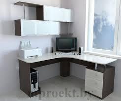<b>угловые компьютерные столы</b> с полками и ящиками фото: 24 тыс ...