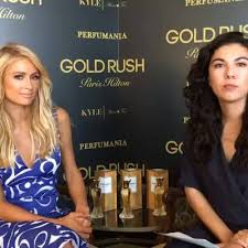 THR Style - <b>Paris Hilton</b> dishes on her new <b>Gold Rush</b> fragrance ...