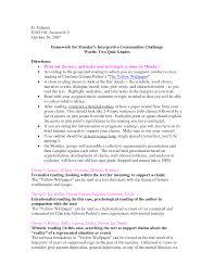yellow wallpaper essay   wallpapersafarithe yellow wallpaper essay outline