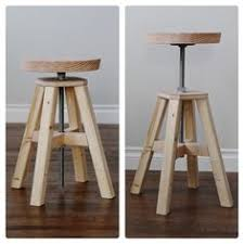 ana white build a adjustable height wood and metal stool free and easy diy project and furniture plans this stool may work 4 what we need ana white completed eco office desk