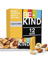 <b>Батончик Be-Kind Ореховый</b>, с медом и морской солью, 12 шт по ...