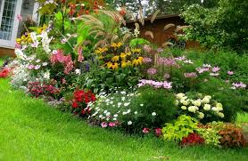 simple flower bed ideas front bedroommagnificent lush landscaping ideas