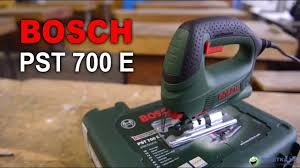 Обзор электролобзика <b>Bosch PST</b> 700 E - YouTube