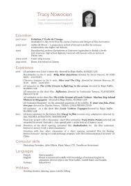 german cv example in english service resume german cv example in english example of a good cv european resources cv english tracy nowocien