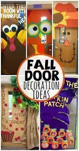 fall door decoration ideas for the classroom bulletinboards aaron office door decorated