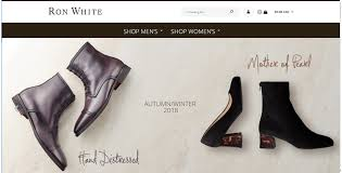 Welcome to Ron <b>White</b> Shoes