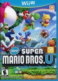 Video game:Nintendo Wii U <b>New Super Mario Bros</b>. U - Nintendo ...