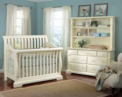 baby boy nursery designs ideas blue room white furniture